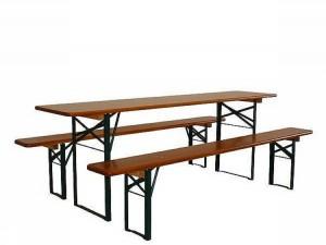 Set stolu a laviček